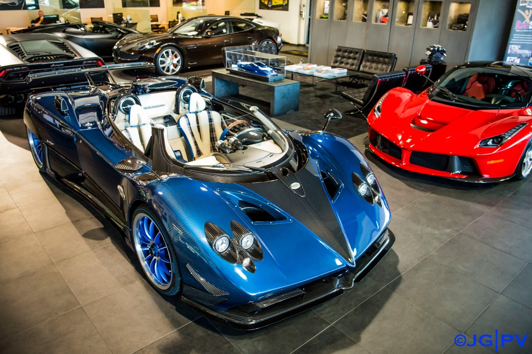 The Pagani Zonda Hp Barchetta At Prestige Imports Jg Photo Ventures